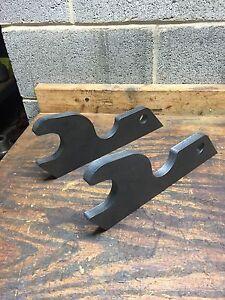 Details about Kubota U25 Excavator Quick Attach Plates Bucket ears  attachment adaptor