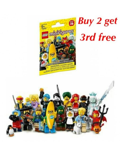 LEGO SERIES 16 and 17 MINIFIGURES .. CHOOSE YOUR FIGURE