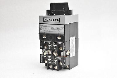 Agastat 7014PC Timing Relay 2-20 Sec 125v-dc