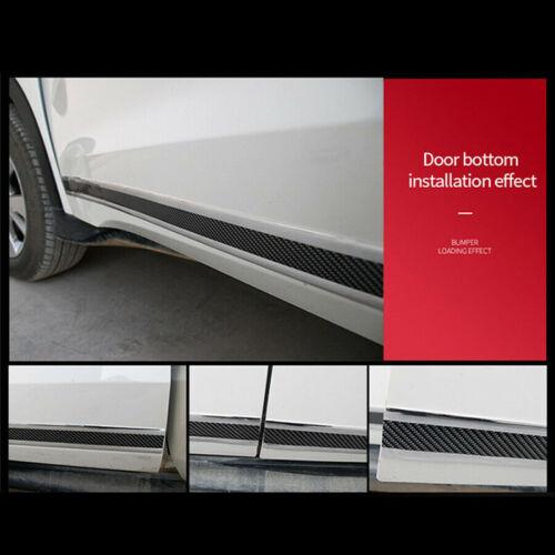 Tür Auto-Antikollisionsstreifen Schweller Kante Schutz Rolle Kohlefaser