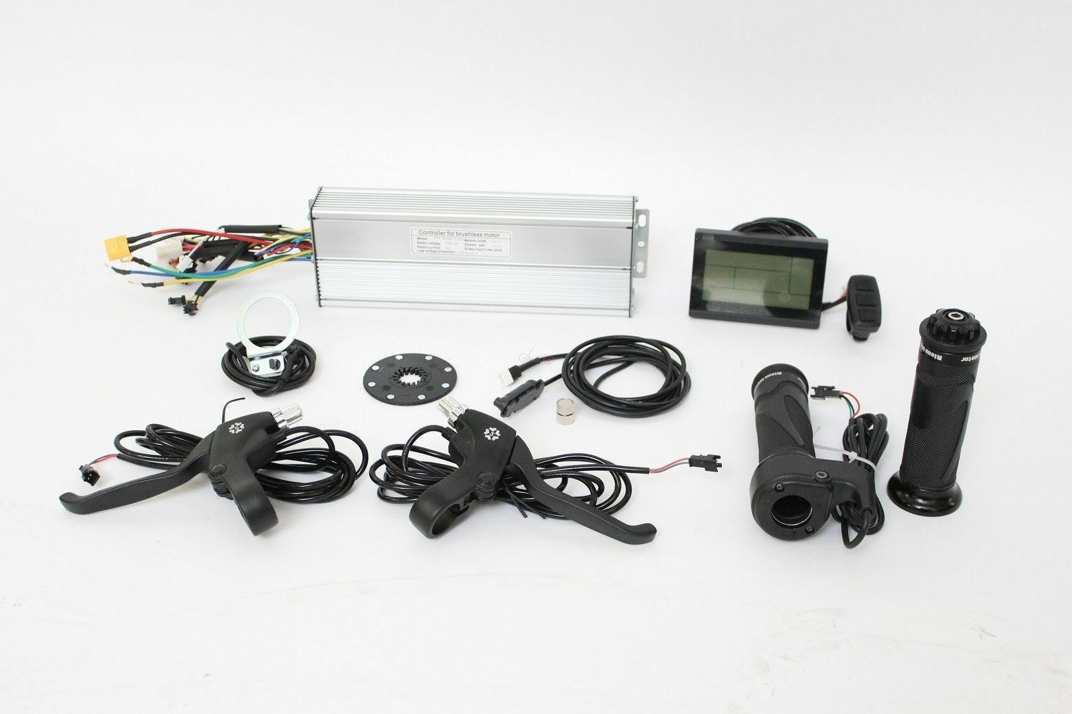 36 48V 200-350W 20A Square Wave Controller+LCD3+Thredtle+PAS+Brakes+Speed Sensor