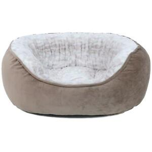 Canine-Creations-Memory-Foam-Pet-Bed-28-034-x-24-034-Cuddler-style-Zippered-cover