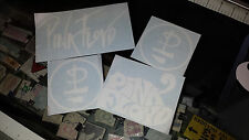 PINK FLOYD Band Decals Music Sticker Vinyl Bumper Window Car Laptop  SET of 4