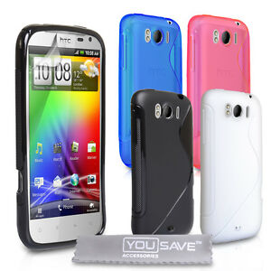 Accessories-For-The-HTC-Sensation-XL-Stylish-Silicone-Gel-Case-Cover-Skin-UK