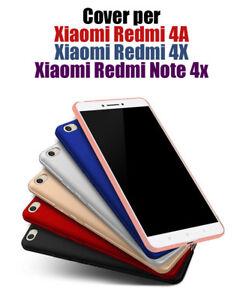 Cover-custodia-per-Xiaomi-Redmi-4A-Per-Redmi-4X-Per-Redmi-Note-4X-COPERTUR-Bordo