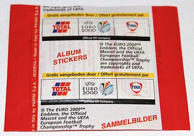 RARE! Panini EM Euro 2000 00 – 1 x Tüte packet bustina PROMO EDITION TOTAL FINA