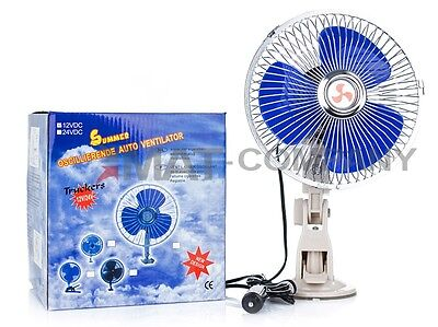 "8/"" Auto Mini Ventilator Lüfter Fan 12V Mini Klimaanlage"