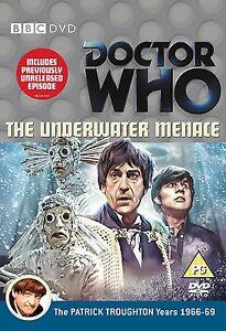 Doctor-Who-The-bajo-el-Agua-Amenaza-DVD-Nuevo-y-Sellado-Patrick-Troughton-Dr