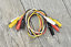 """thumbnail 3 - 4pc Test Lead 16-gauge Double Ended Insulated Alligator Jumper Wire 36"""" Electric"""