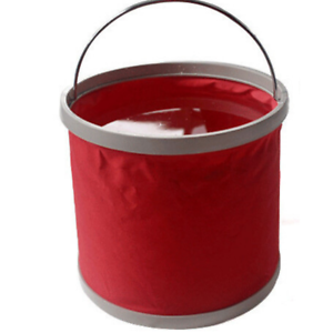 Folding Bucket Outdoor indoor  Collapsible Barrel Foldable Pail Storage New