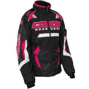 Castle X™ Youth Girl's Bolt G3 Insulated Snowmobile Jacket - Hot Pink - 72-482_