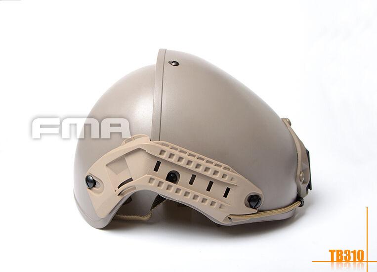 FMA TB310 CP Casco de projoección dos en uno de Fit 57-60 cm circunferencia de la cabeza