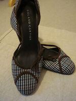 Bnwot Roland Cartier Tweed & Suede Shoes Uk 6