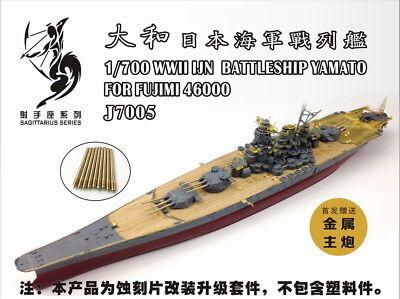 Artwox 1//700 Japanese Navy Battleship Yamato Wooden Deck Set for Fujimi #460000