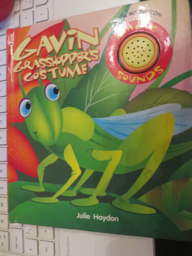 1 of 1 - Gavin Grasshopper's Costume Hinkler Book Distributors hardback board book noises