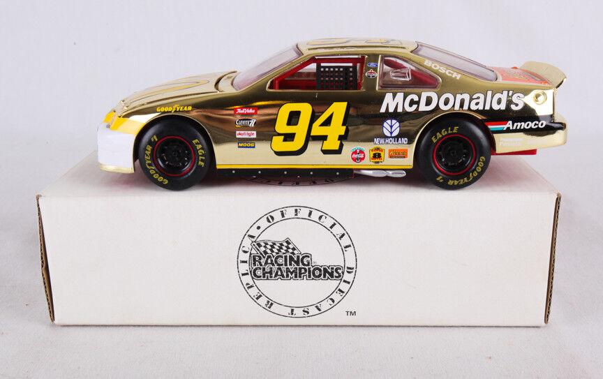 Racing Champions Official Diecast Replica 1998 McDonald's Bill Elliot Car 8