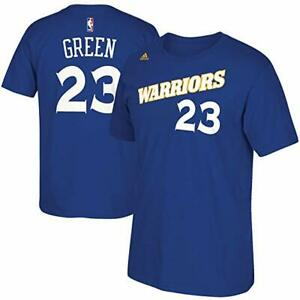 adidas-Draymond-Green-Golden-State-Warriors-Blue-Alternate-Shirt-Size-Small