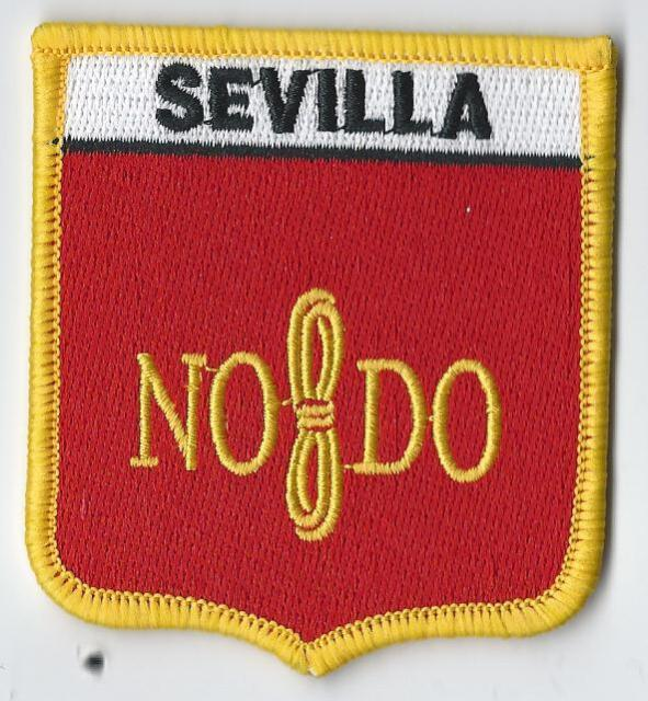 Seville Spain Shield Embroidered Patch