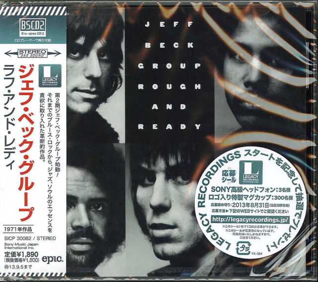 JEFF BECK-ROUGH AND READY-JAPAN BLU-SPEC CD2 D73
