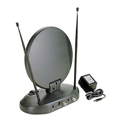 Eagle MANT-400 Indoor TV Antenna Digital Amplified 45dB UHF 30 dB UHF FM VHF