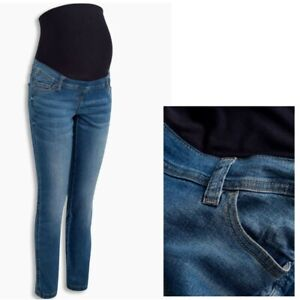 Nel-prossimo-Maternita-Pancione-Jeans-Attillati-Blu-Taglie-8-20