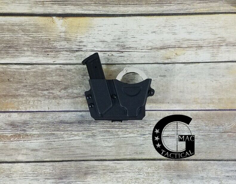 Sig Sauer P320 9 40 Magazine Handcuff Carrier Combo Peerless Chain Handcuffs