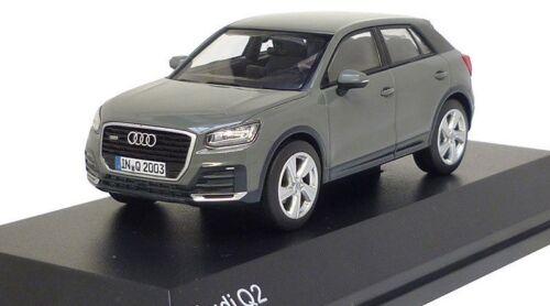 Original Audi Q2 GA model car 1:43 Quantum gray model Audi Q2 type GA gray