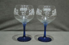 2 X Liverpool Gin Company Large Balloon Glases NEW CE Home Bar Pub