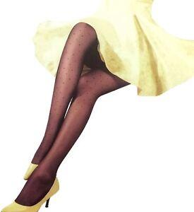 Gerade New Womens Diamond Mesh Dotted Stockings Leggings Den Speichel Auffrischen Und Bereichern