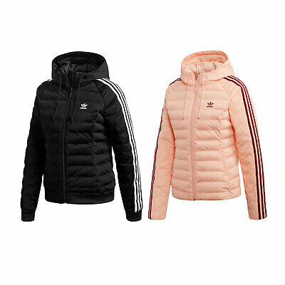 adidas Originals Slim Monogram Jacket Damen Winterjacke Steppjacke Jacke | eBay