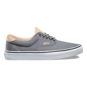 f7cff1b6a4 Vans Era 59 (Veggie Tan) Frost Grey True White Men s Skate Shoes ...