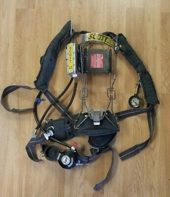 Backpack 1997 style Survivair Panther Industrial CBRN SCBA Harness