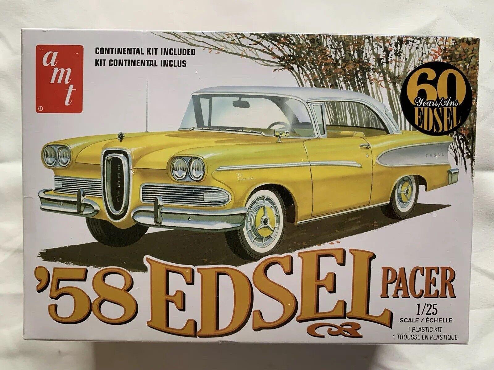 Amt 1087  1958 EDSEL PACER Plastic model kit 1//25 IN STOCK!