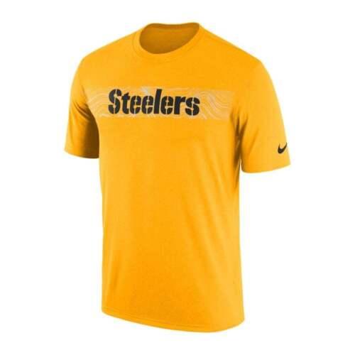 Nike NFL Pittsburgh Steelers Sideline Seismic Legend Performance T-Shirt