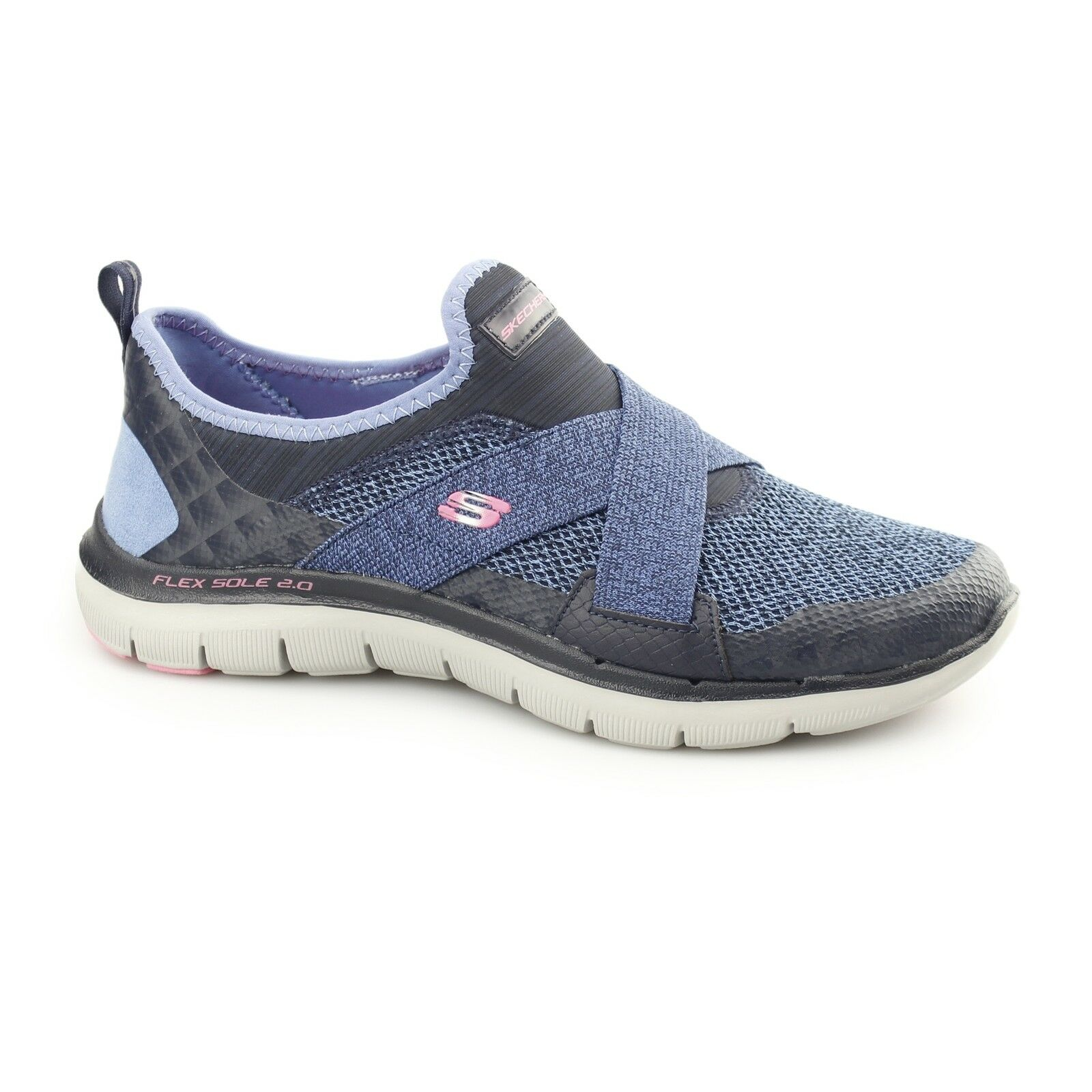 Skechers Flex Appeal 2.0 - nueva Imagen señoras señoras señoras para mujer para Deportes y Fitness Zapatillas Azul Marino  calidad auténtica