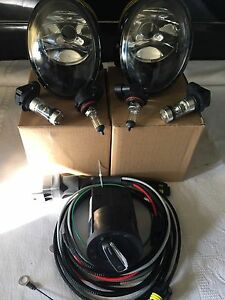 VW TRANSPORTER T5 2010 ONWARD Fog Light Lamps Pair Right & Left With Bulb