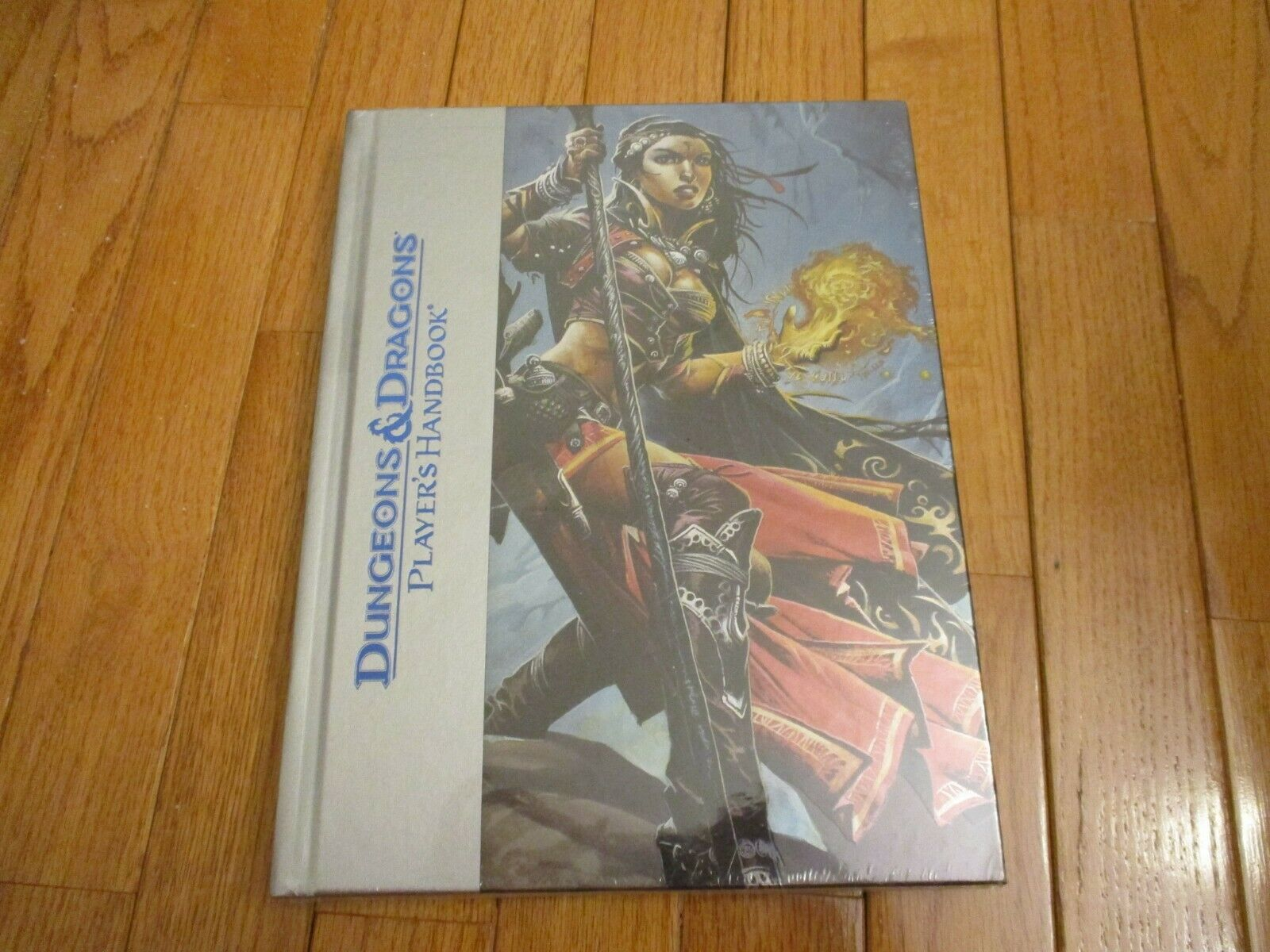 D&D D20 4.0 4th Ed Player's Handbook Deluxe Edition SW