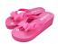 Summer-Flip-Flops-Platform-Thong-Wedge-Beach-Sandals-Bow-Knot-Slippers-Footwears thumbnail 14