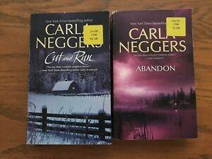 Details about Carla Neggers LOT OF 2 Abandon & Cut and Run Paperback