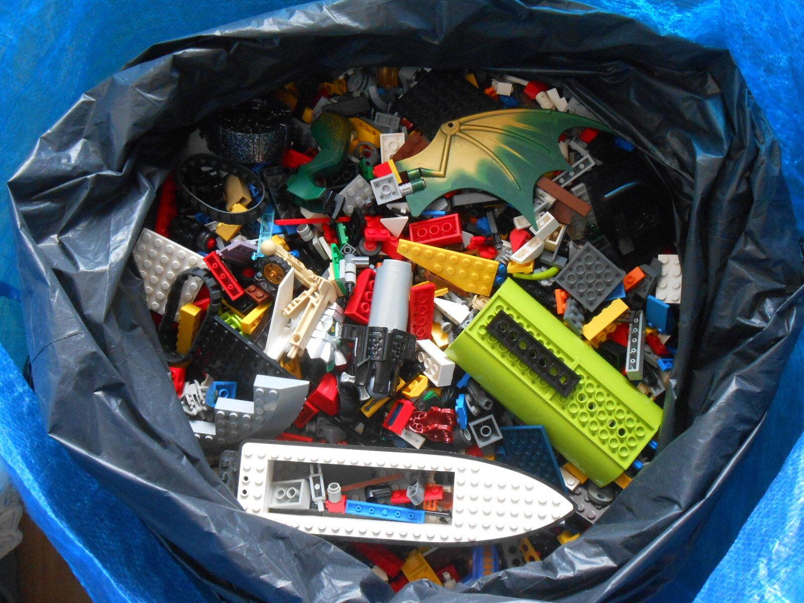 Lego Konvolut-Gemischt überwiegend Star Wars,Technik,City ca. 10 kg   SAUBER