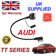 AUDI TT AMI MMI 4F0051510K iPhone 3gs 4 4s iPod MP3 USB & 3.5mm Aux Audio cable
