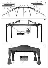 Replacement Canopy for Gazebo Sojag Patio Deluxe - 10x10