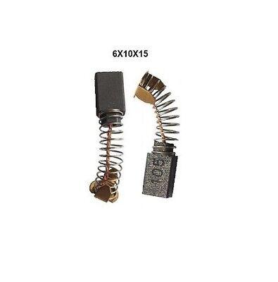 Makita charbon brosses cb-105 181038-5 pour par exemple hk1800; hk1810; hm0810; hm0810b NEUF