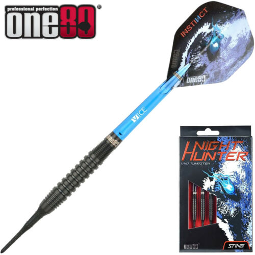 ONE80 Soft E Dart Pfeile Softdarts VHD Darts Night Hunter Sting 90/% 20 gr 7492