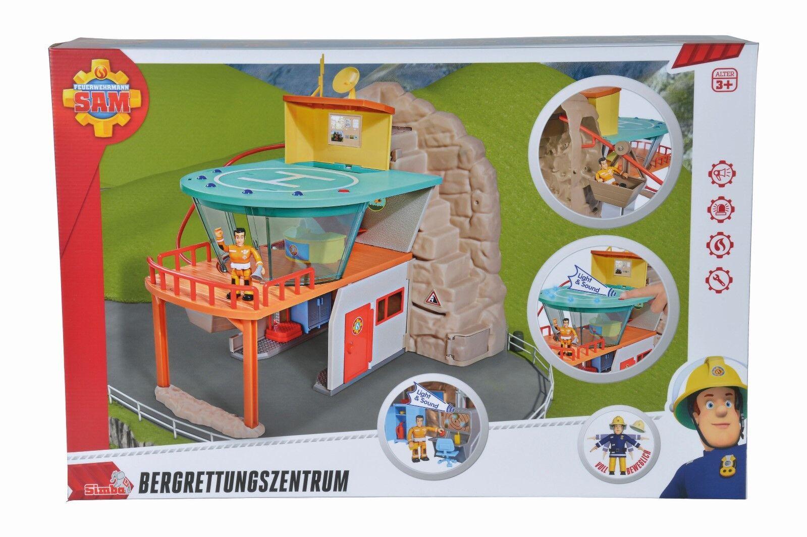Simba 109251003 Feuerwehrmann Sam Bergrettungszentrum NEU OVP