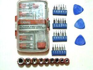 NEW* 77 screw driver bits standard, Torx , nut bits