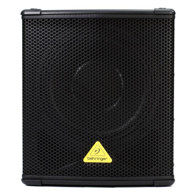 behringer b1200d pro eurolive powered speaker cabinet for sale online ebay. Black Bedroom Furniture Sets. Home Design Ideas