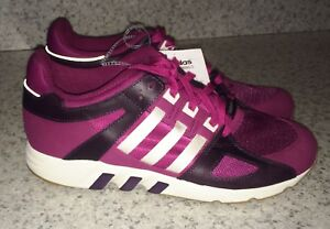official photos b4ca7 159e4 Image is loading ADIDAS-ORIGINALS-Equipment-Guidance-93-Berry-Running-Shoes-