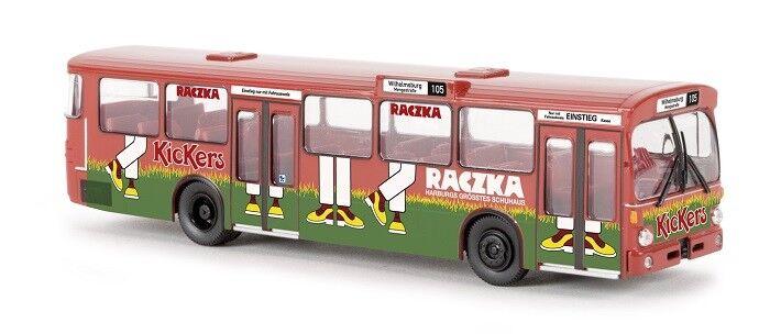Brekina 50761 - 1 87 Mercedes-Benz O 305 Bus - Hha   Raczka - Neu