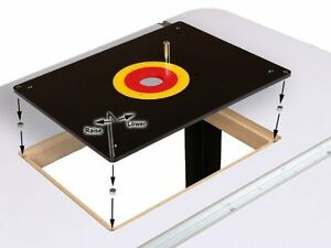 Image Is Loading Router Table Insert Plate W Guide Pin Amp